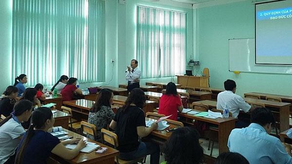 Khoá học bồi dưỡng tiêu chuẩn chức danh nghề nghiệp giảng viên