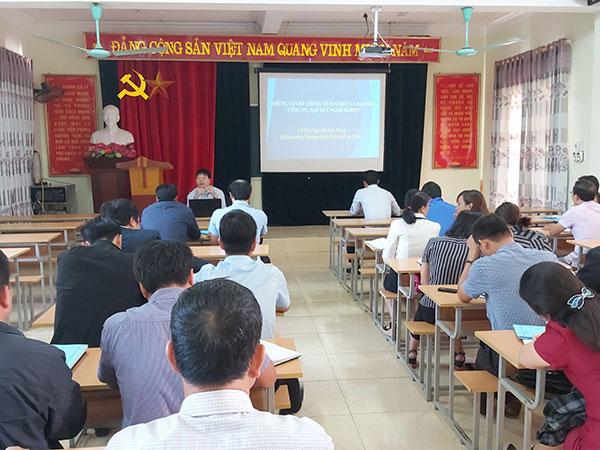 các trường được đào tạo chứng chỉ chuyên viên